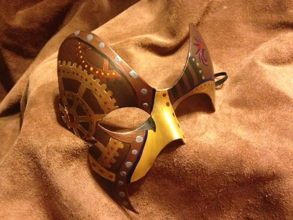 NYE Steampunk mask