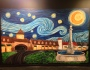 Starry Night Over Peachtree Corners Mural