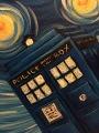 TARDIS Starry Night