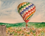 027 Creative South hot air balloon